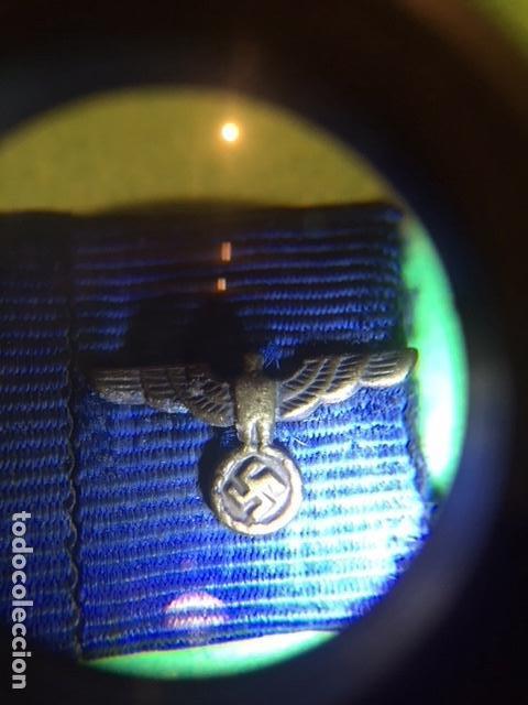 Militaria: PASADOR DE DIARIO ORIGINAL III REICH . 4 CONDECORACIONES. SOLDADO 1 y 2 GUERRA MUNDIAL. - Foto 3 - 156661210