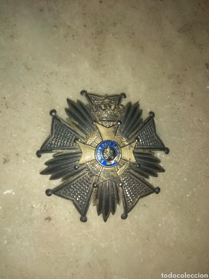 Militaria: Gran Medalla - Placa L'Union Fait la Force - Belgica - - Foto 3 - 157276353