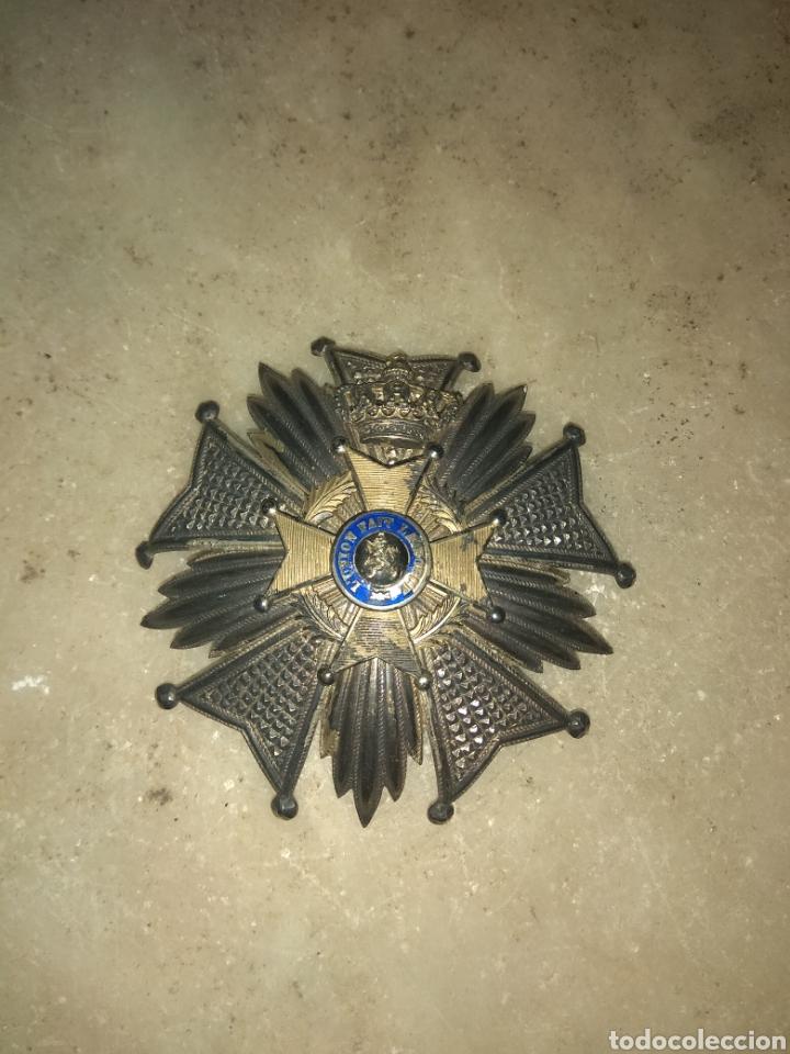 Militaria: Gran Medalla - Placa L'Union Fait la Force - Belgica - - Foto 4 - 157276353