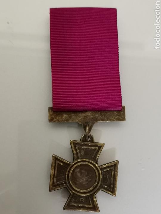 Militaria: ANTIGUA MEDALLA MILITAR FOR VALOUR REINA VICTORIA INGLATERRA REPLICA CAJA ORIGINAL - Foto 4 - 157338873