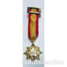 Militaria: PLACA MINIATURA MERITO NAVAL. Lote 157711694