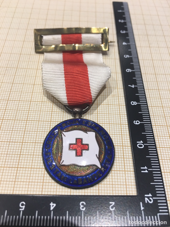 MEDALLA CRUZ ROJA DÍA DE LA BANDERITA (Militar - Medallas Españolas Originales )