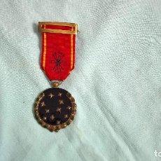 Militaria: MEDALLA FALANGE VIEJA GUARDIA..ORIGINAL,ESMALTADA,CINTA BORDADA,NUMERO EXPEDIENTE GRABADO,ORIGINAL.. Lote 158398578