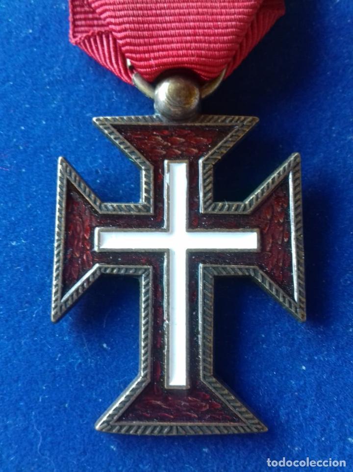 PORTUGAL - MEDALLA ORDEN DE CRISTO (Militar - Reproducciones y Réplicas de Medallas )