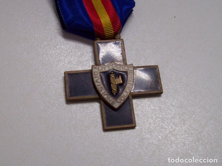 Militaria: MEDALLA DIVISION DE VOLUNTARIOS LITTORIO CTV - Foto 3 - 52295698