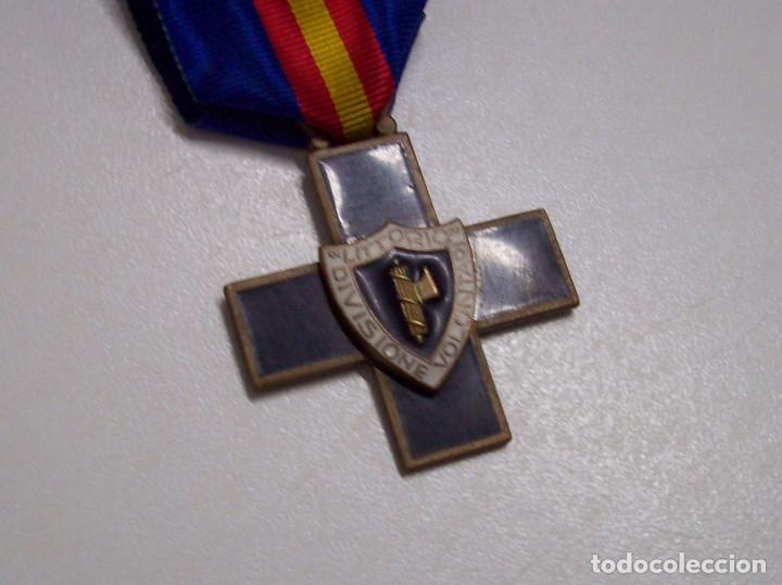 Militaria: MEDALLA DIVISION DE VOLUNTARIOS LITTORIO CTV - Foto 5 - 52295698