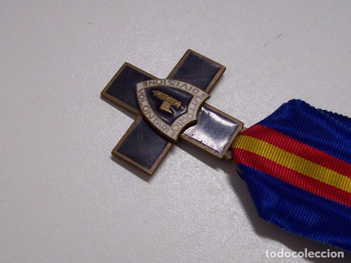 Militaria: MEDALLA DIVISION DE VOLUNTARIOS LITTORIO CTV - Foto 7 - 52295698
