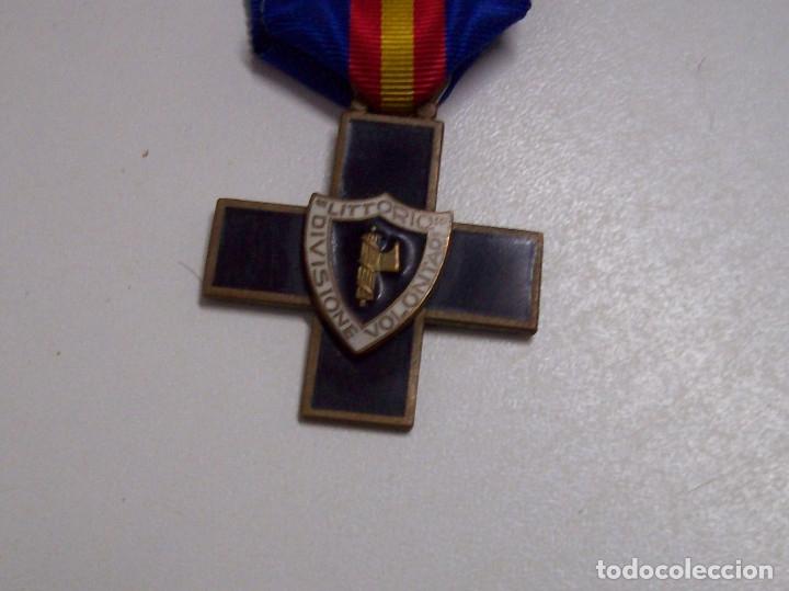 Militaria: MEDALLA DIVISION DE VOLUNTARIOS LITTORIO CTV - Foto 6 - 52295698