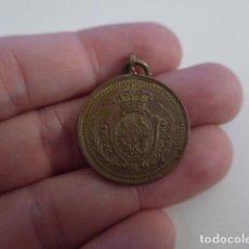 Militaria: ANTIGUA MEDALLA DE 1894 SOCIEDAD ESPAÑOLA SOCORRO MUTUO, DE TUCUMAN. ORIGINAL. Lote 158609026