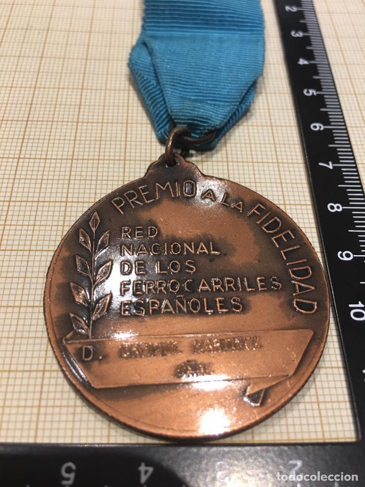 Militaria: Medalla Renfe , categoría bronce. - Foto 6 - 159222724