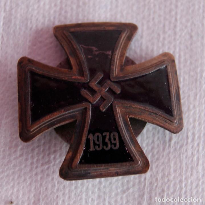 Militaria: 3 CRUCES ALEMANIA NAZIS ESMALTES GUERRA MUNDIAL - Foto 3 - 159400602