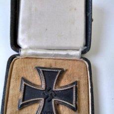 Militaria: ALEMANIA CRUZ DE HIERRO 1939 1A CLASE CON ESTUCHE ORIGINAL. Lote 159584586