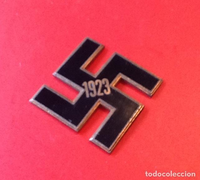 Militaria: CRUZ GAMADA. 1923. ESMALTADA. PARTE DE MEDALLA ?. ENVIO INCLUIDO. - Foto 3 - 159863402