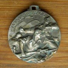 Militaria: MEDALLA ITALIANA POR LA TOMA DE BILBAO. ORIGINAL.GUERRA CIVIL 1937. Lote 159866306