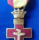 Militaria: CRUZ DE 1ª CLASE DEL MERITO NAVAL CON DISTINTIVO ROJO - EPOCA DE FRANCO. Lote 160173966
