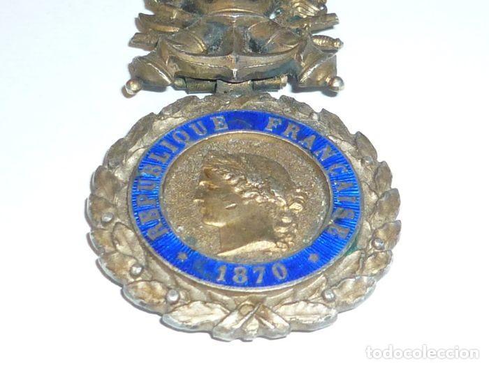 MEDALLA DE PLATA DEL EJERCITO DE FRANCIA, WWI, GUERRA DE 1914 (Militar - Medallas Internacionales Originales)
