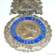 Militaria: MEDALLA DE PLATA DEL EJERCITO DE FRANCIA, WWI, GUERRA DE 1914. Lote 160199870