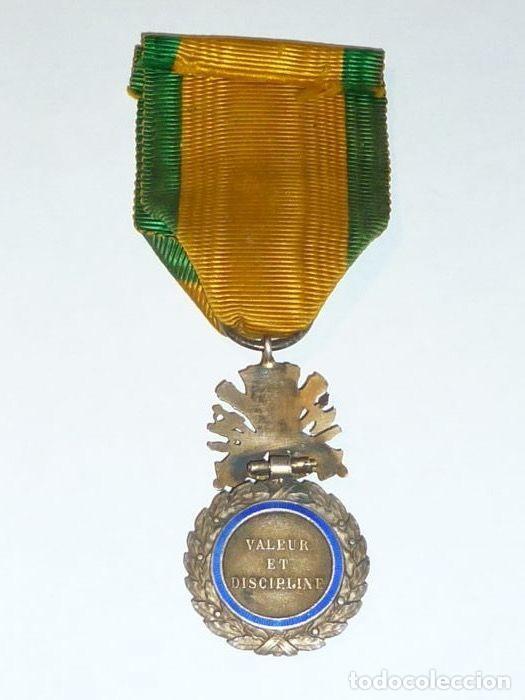 Militaria: Medalla de Plata del ejercito de Francia, WWI, Guerra de 1914 - Foto 4 - 160199870