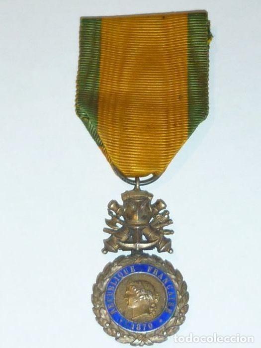 Militaria: Medalla de Plata del ejercito de Francia, WWI, Guerra de 1914 - Foto 7 - 160199870
