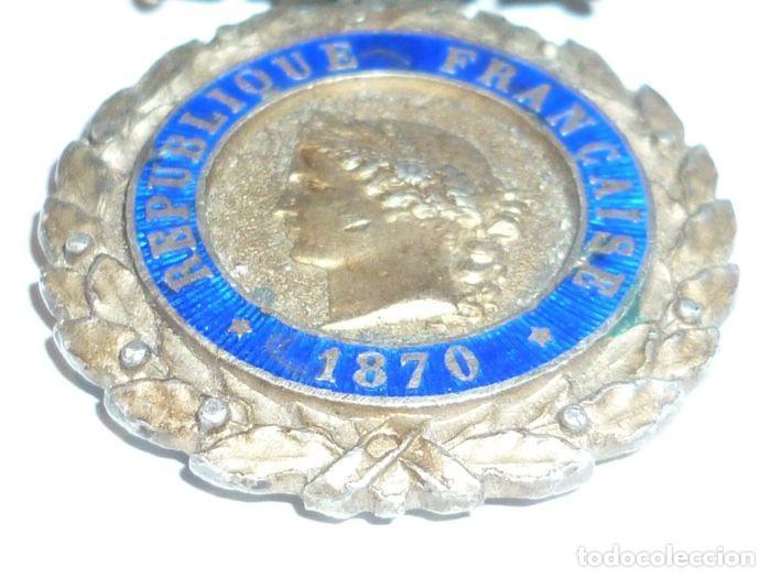 Militaria: Medalla de Plata del ejercito de Francia, WWI, Guerra de 1914 - Foto 8 - 160199870