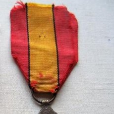 Militaria: MEDALLA DE LA GUERRA 1914-1918, BRONCE, INFANTERÍA BELGA.. Lote 160205270