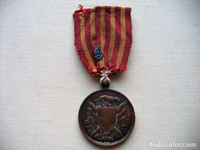 MEDALLA DE 1870, INFANTERÍA ITALIANA, BRONCE, CONMEMORATIVA DE LA LIBERACIÓN DE ROMA, (Militar - Medallas Internacionales Originales)