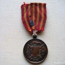 Militaria: MEDALLA DE 1870, INFANTERÍA ITALIANA, BRONCE, CONMEMORATIVA DE LA LIBERACIÓN DE ROMA, . Lote 160206942