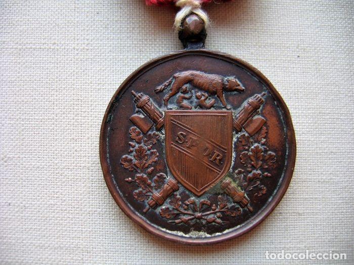 Militaria: Medalla de 1870, infantería italiana, bronce, conmemorativa de la liberación de Roma, - Foto 2 - 160206942