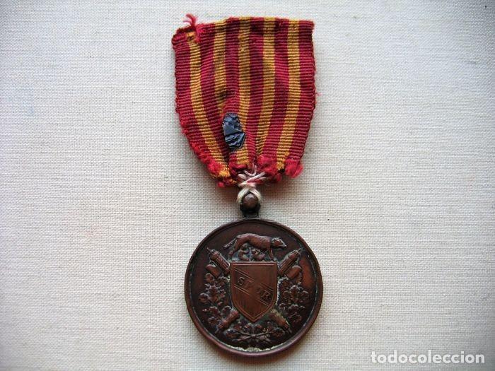 Militaria: Medalla de 1870, infantería italiana, bronce, conmemorativa de la liberación de Roma, - Foto 3 - 160206942