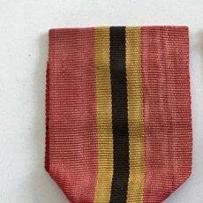 Militaria: MEDALLA DE LA LEALTAD, 1905, BRONCE DORADO, LEOPOLDO II DE BÉLGICA.. Lote 160217386