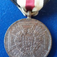 Militaria: ALEMANIA IMPERIAL - MEDALLA 1870 GUERRA FRANCO PRUSIANA. Lote 160481418