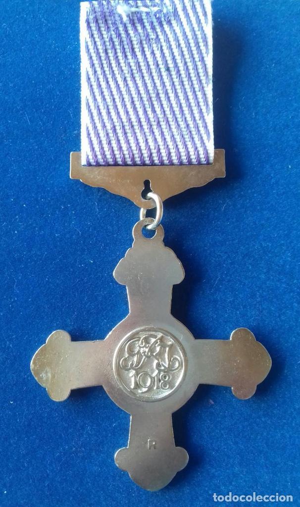 Militaria: REINO UNIDO - MEDALLA RAF - SERVICIO DISTINGUIDOS EN VUELO 1918 - Foto 2 - 160985682