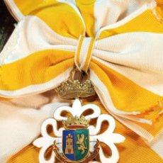 Militaria: BELLA VENERA DE LA REAL MAESTRANZA DE CABALLERÍA DE LA MUY NOBLE Y LEAL CIUDAD DE MÉRIDA DEL YUCATÁN. Lote 161094906