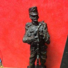 Militaria: FIGURA DE SOLDADO INGENIEROS 1890. Lote 161143158