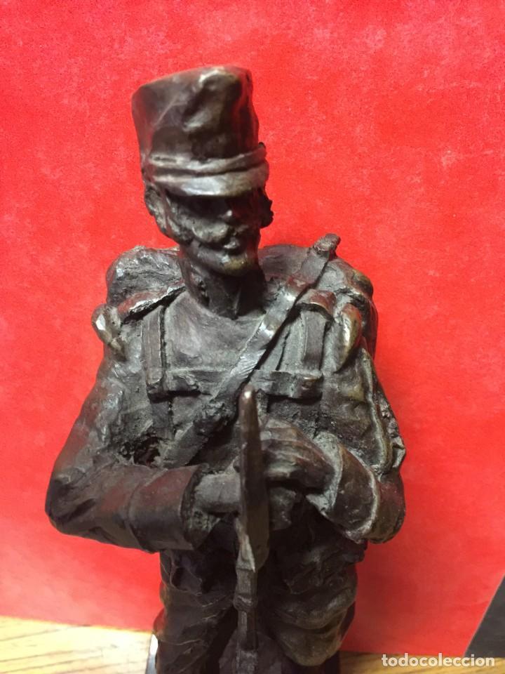 Militaria: FIGURA DE SOLDADO INGENIEROS 1890 - Foto 3 - 161143158