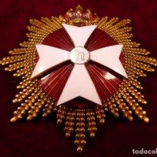 Militaria: GRAN PLACA DE LA ORDEN DE CABALLEROS HOSPITALARIOS DE SAN JUAN BAUTISTA DE CÁDIZ. . Lote 161152314