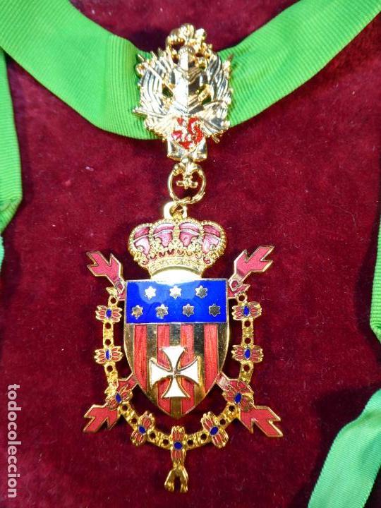 ENCOMIENDA DE LA REAL ORDEN DE CABALLEROS DE SANTA MARÍA DEL PUIG. (Militar - Medallas Españolas Originales )