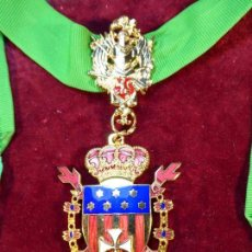 Militaria: ENCOMIENDA DE LA REAL ORDEN DE CABALLEROS DE SANTA MARÍA DEL PUIG. . Lote 161153162