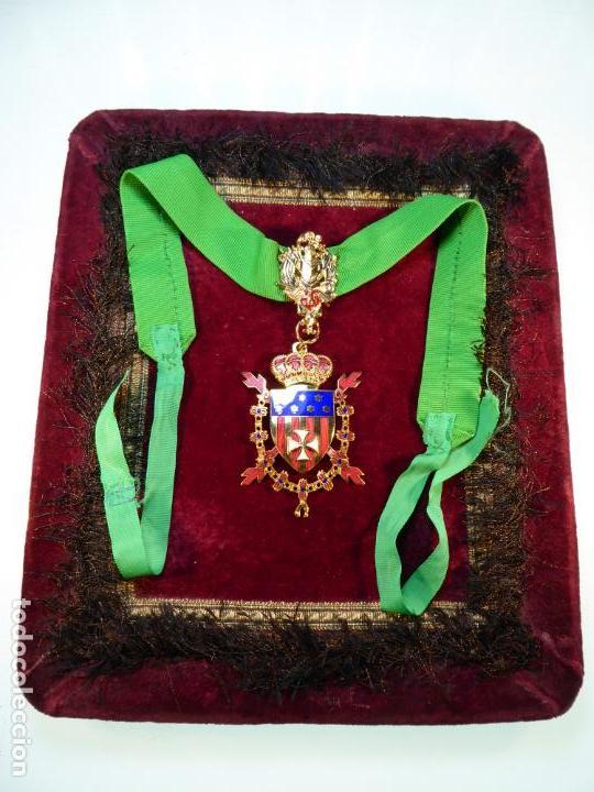 Militaria: Encomienda de la real orden de caballeros de Santa María del Puig. - Foto 2 - 161153162