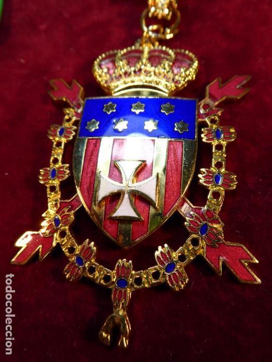 Militaria: Encomienda de la real orden de caballeros de Santa María del Puig. - Foto 3 - 161153162