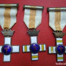 Militaria: LOTE DE 3 MEDALLAS CONSTANCIA MILITAR, SUBOFICIALES, ANTIGUAS Y BUENA CONSERVACION ,VER FOTOS . Lote 161686546