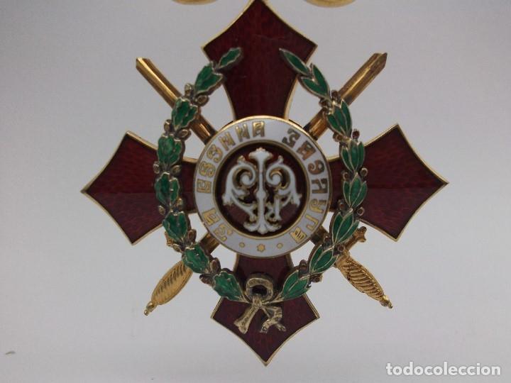 Militaria: Orden Búlgara Al Mérito Militar, IV Clase. Boris III. 1941/44. Entregada a Oficiales alemanes - Foto 8 - 162507566