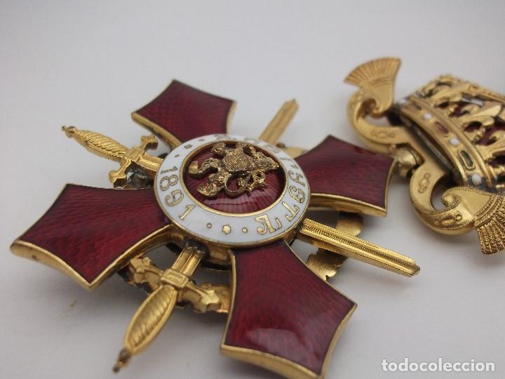 Militaria: Orden Búlgara Al Mérito Militar, IV Clase. Boris III. 1941/44. Entregada a Oficiales alemanes - Foto 9 - 162507566