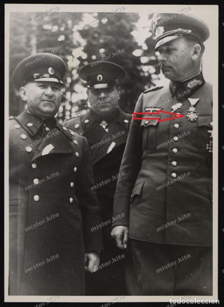 Militaria: Generalfeldmarschall Wilhelm List portando la Orden - Foto 12 - 162507566