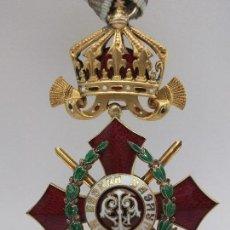 Militaria: ORDEN BÚLGARA AL MÉRITO MILITAR, IV CLASE. BORIS III. 1941/44. ENTREGADA A OFICIALES ALEMANES. Lote 162507566