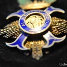 Militaria: MERITO CIVIL CON ESTUCHE ORIGINAL DE CEJALVO. Lote 162618490