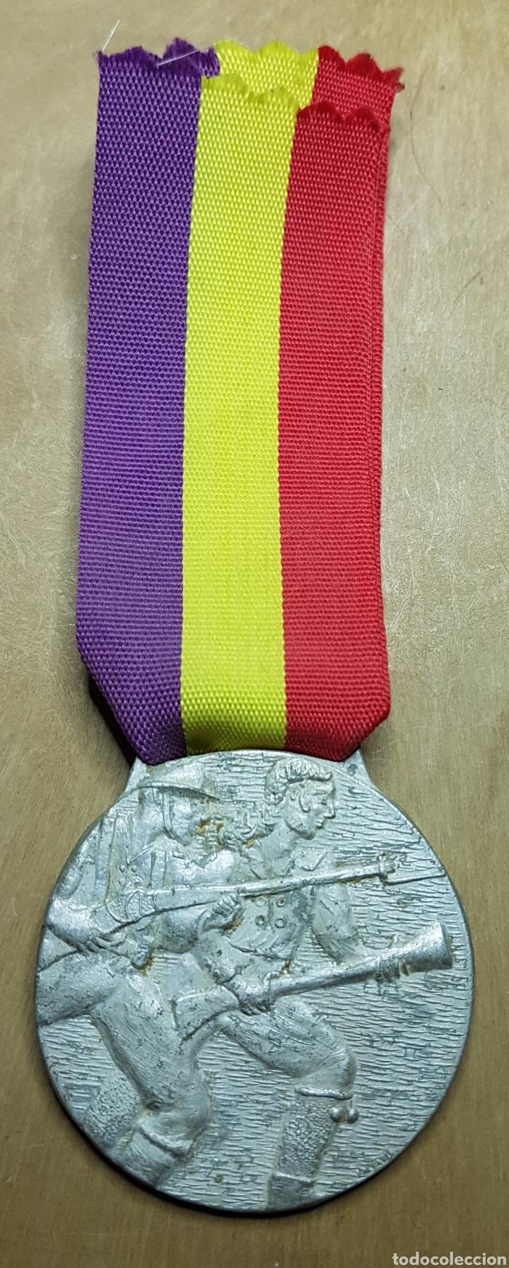 MEDALLA 2 GUERRA INDEPENDENCIA GUERRA CIVIL REPUBLICA (Militar - Medallas Españolas Originales )