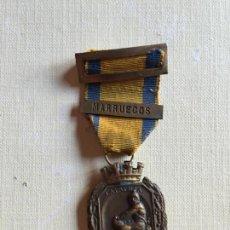 Militaria: MEDALLA DE LAS CAMPAÑAS, II REPÚBLICA, CON PASADOR MARRUECOS. Lote 162848386