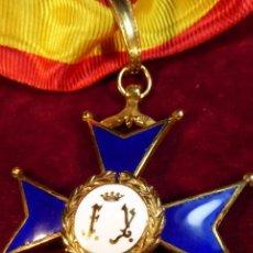 Militaria: MUY BELLA Y POCO VISTA ENCOMIENDA O VENERA.V CENTENARIO DE LA IMPERIAL ORDEN HISPÁNICA DE CARLOS V.. Lote 163215434