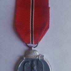 Militaria - MEDALLA DEL PRIMER INVIERNO EN RUSIA, DIVISION AZUL 1941 - Fabr.Española - 163395534